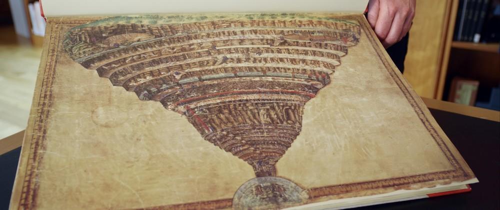 Botticelli - Inferno: un'immagine tratta dal documentario sull'artista italiano