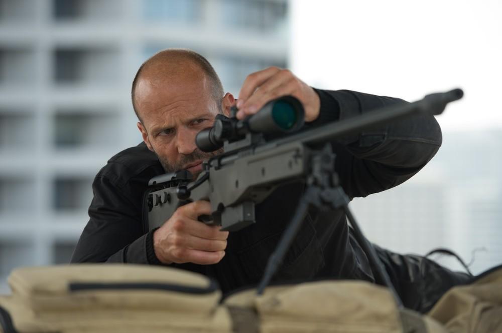 Mechanic: Resurrection, Jason Statham in un momento del film