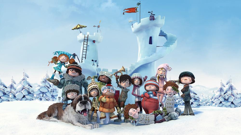 Palle di Neve - Snowtime!: un'immagine del film d'animazione