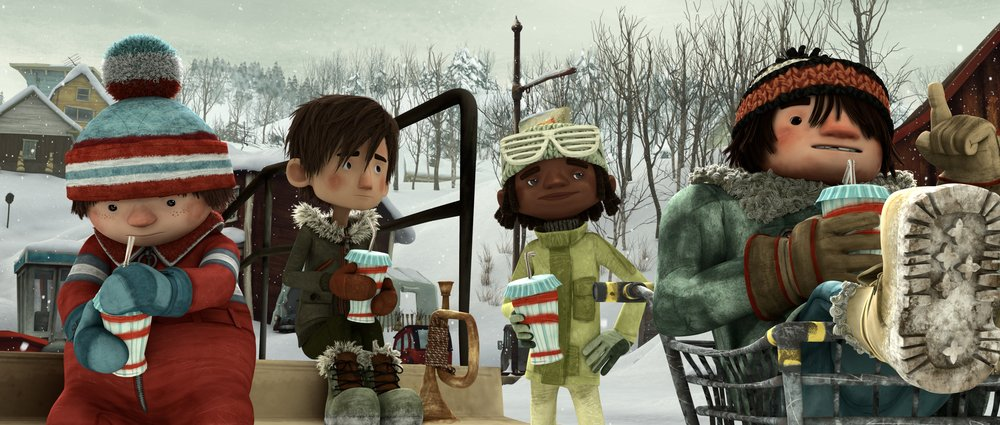 Palle di Neve - Snowtime!: un momento del film d'animazione