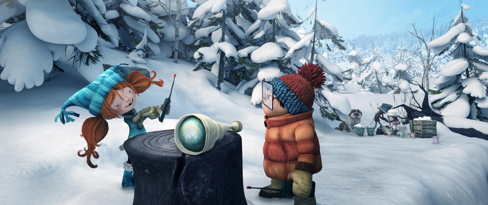 Palle di Neve - Snowtime!: un momento del film animato