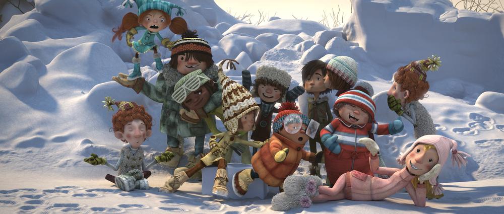Palle di Neve - Snowtime!: una scena del film animato