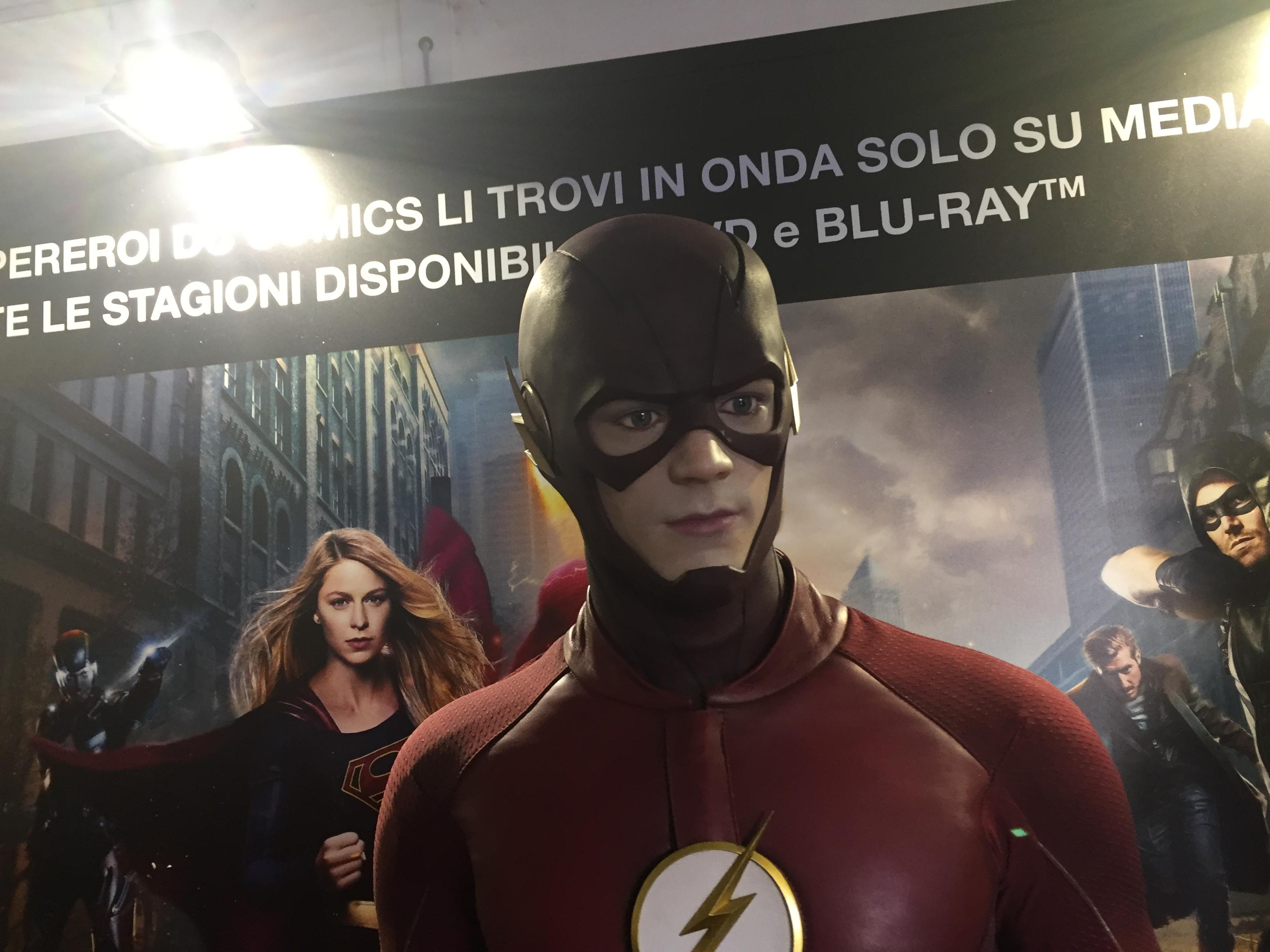 Lucca Comics 2016: Flash nel padiglione Warner