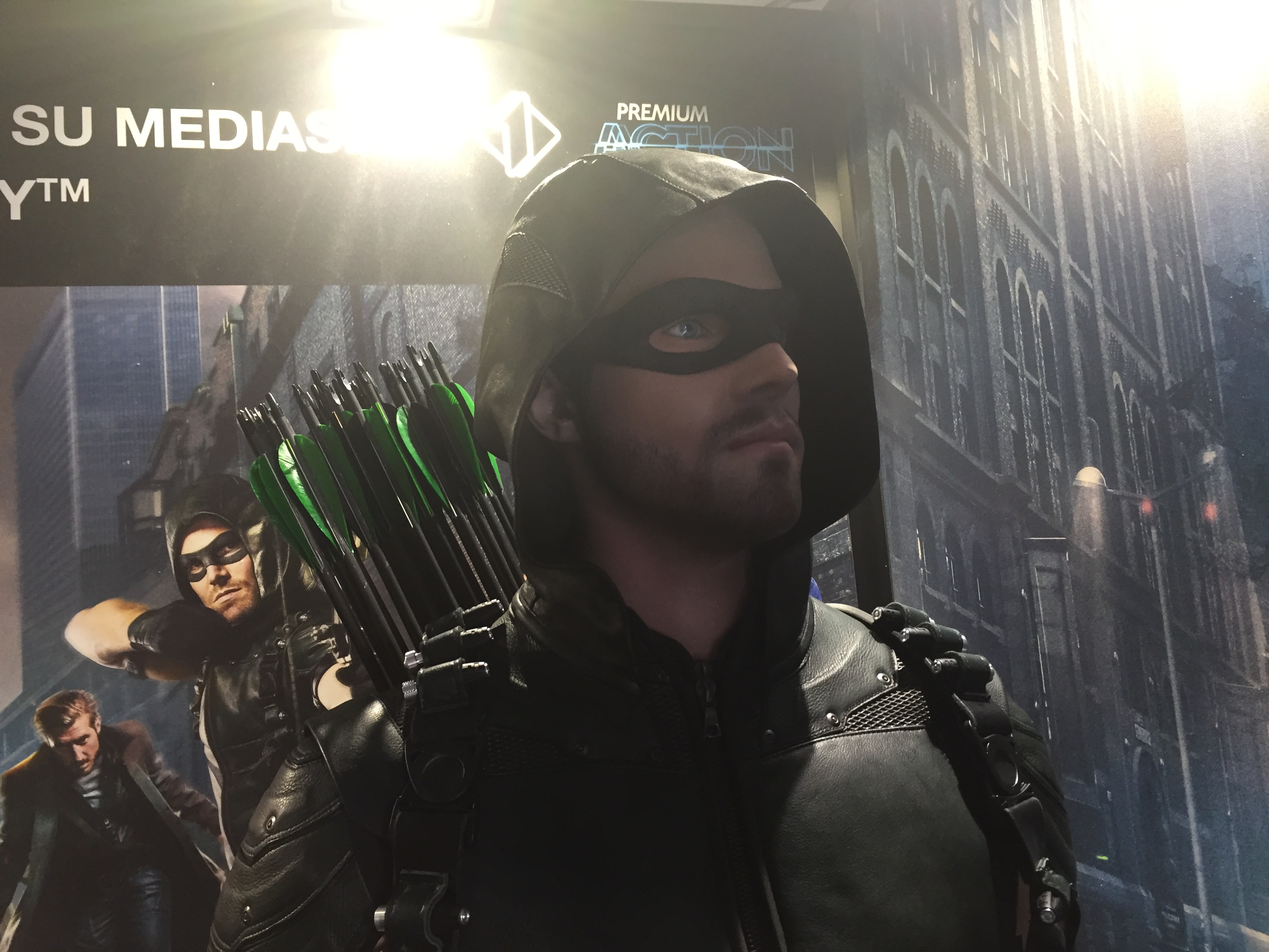Lucca Comics 2016: Arrow nel padiglione Warner
