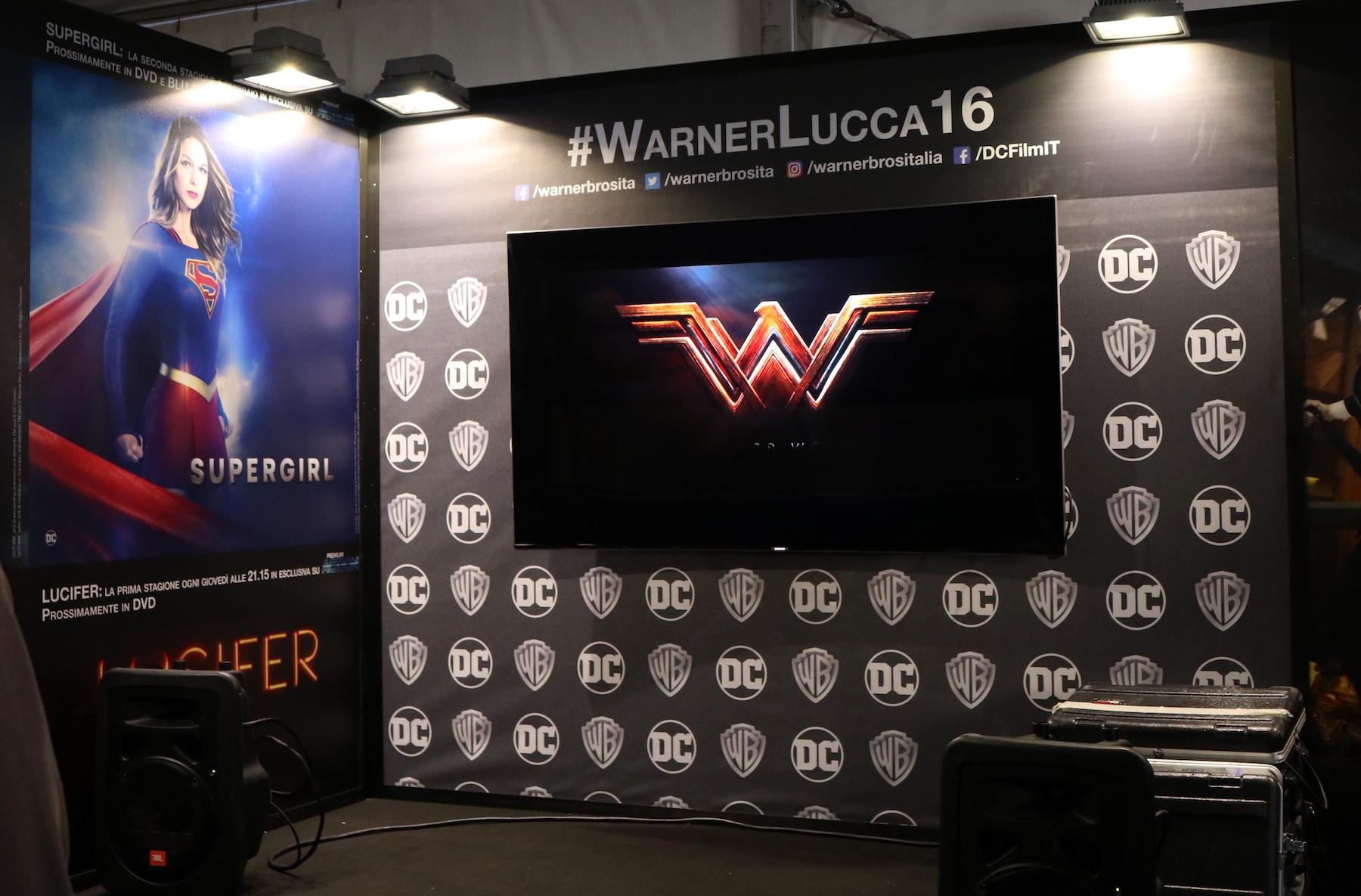 Lucca 2016: Trailer di Wonder Woman al padiglione Warner