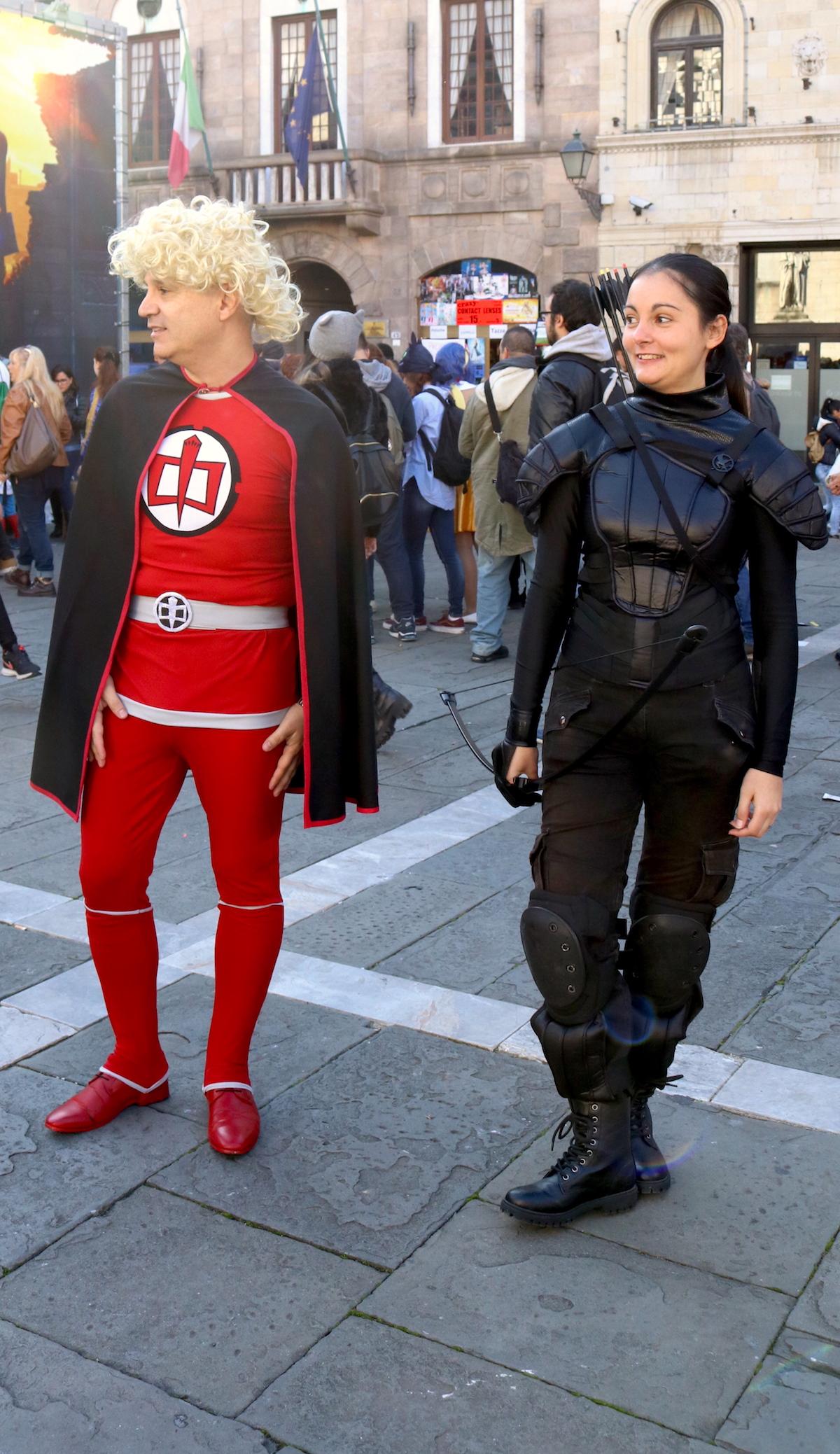Lucca 2016: cosplay di Ralph Supermaxieroe