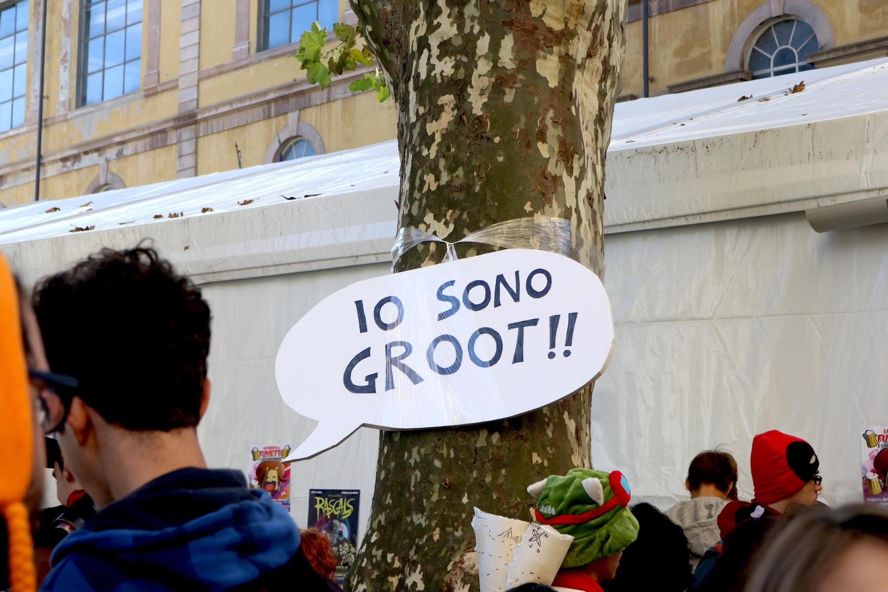 Lucca 2016: anche gli alberi fanno cosplay