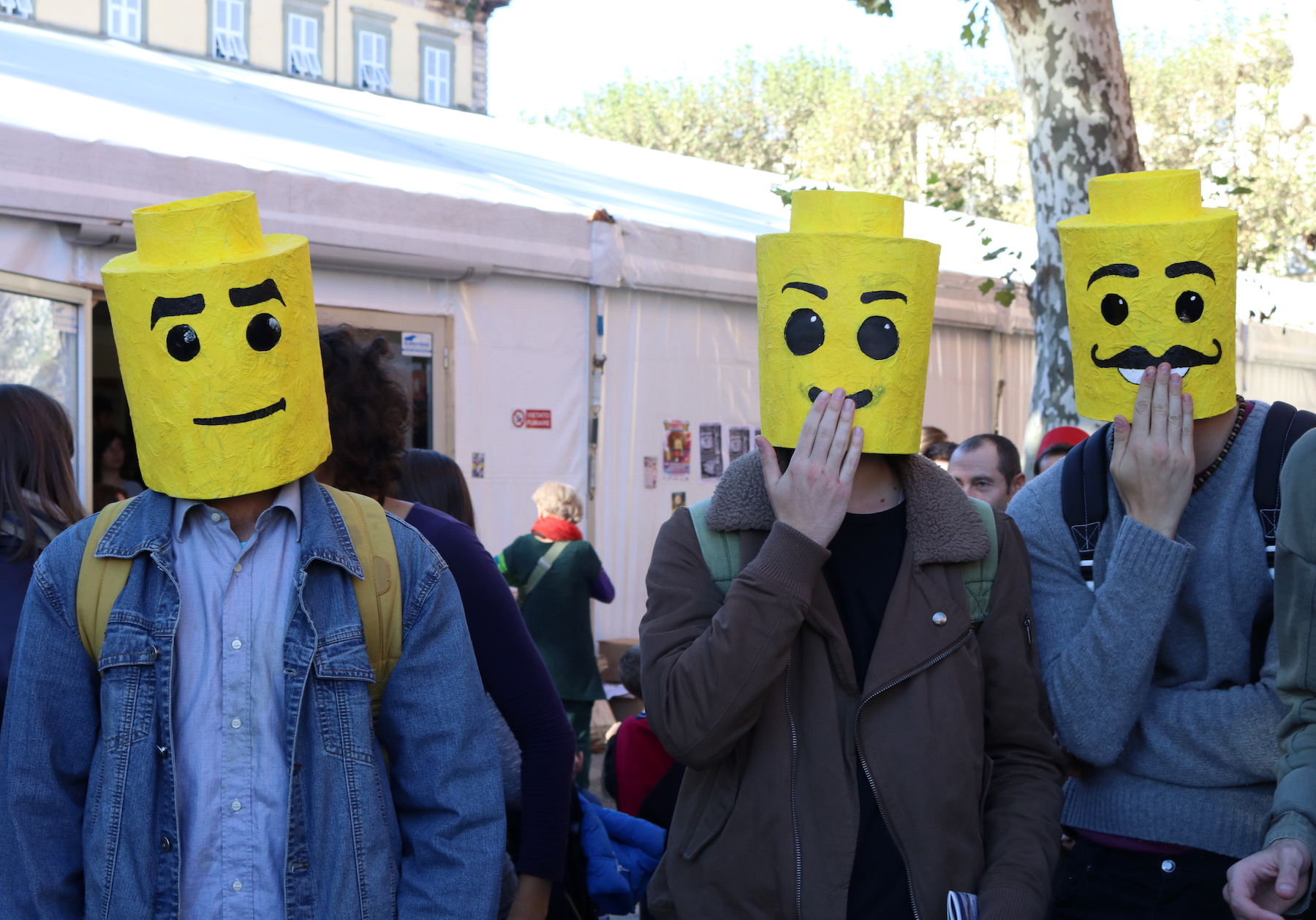 Lucca 2016: cosplay a tema Lego