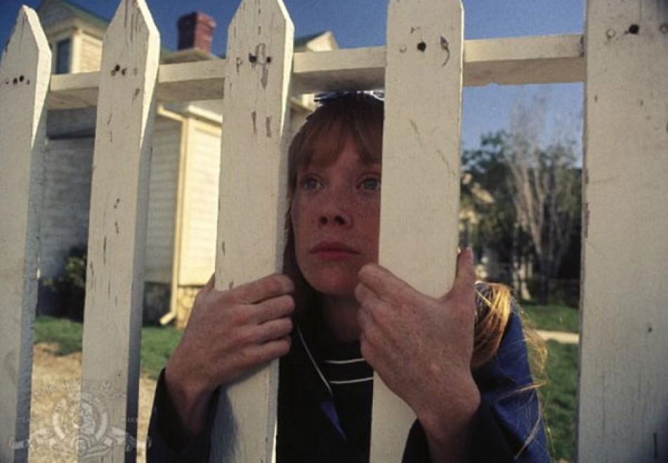 Carrie: Sissy Spacek in una scena del film