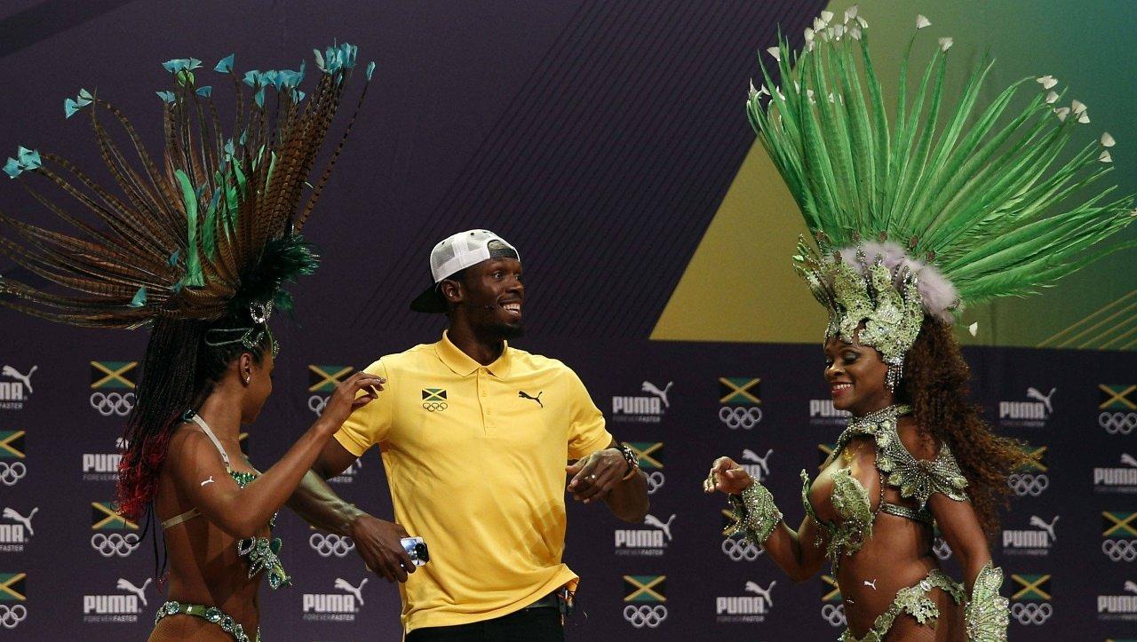 I Am Bolt: Usain Bolt in un'immagine del documentario a lui dedicato