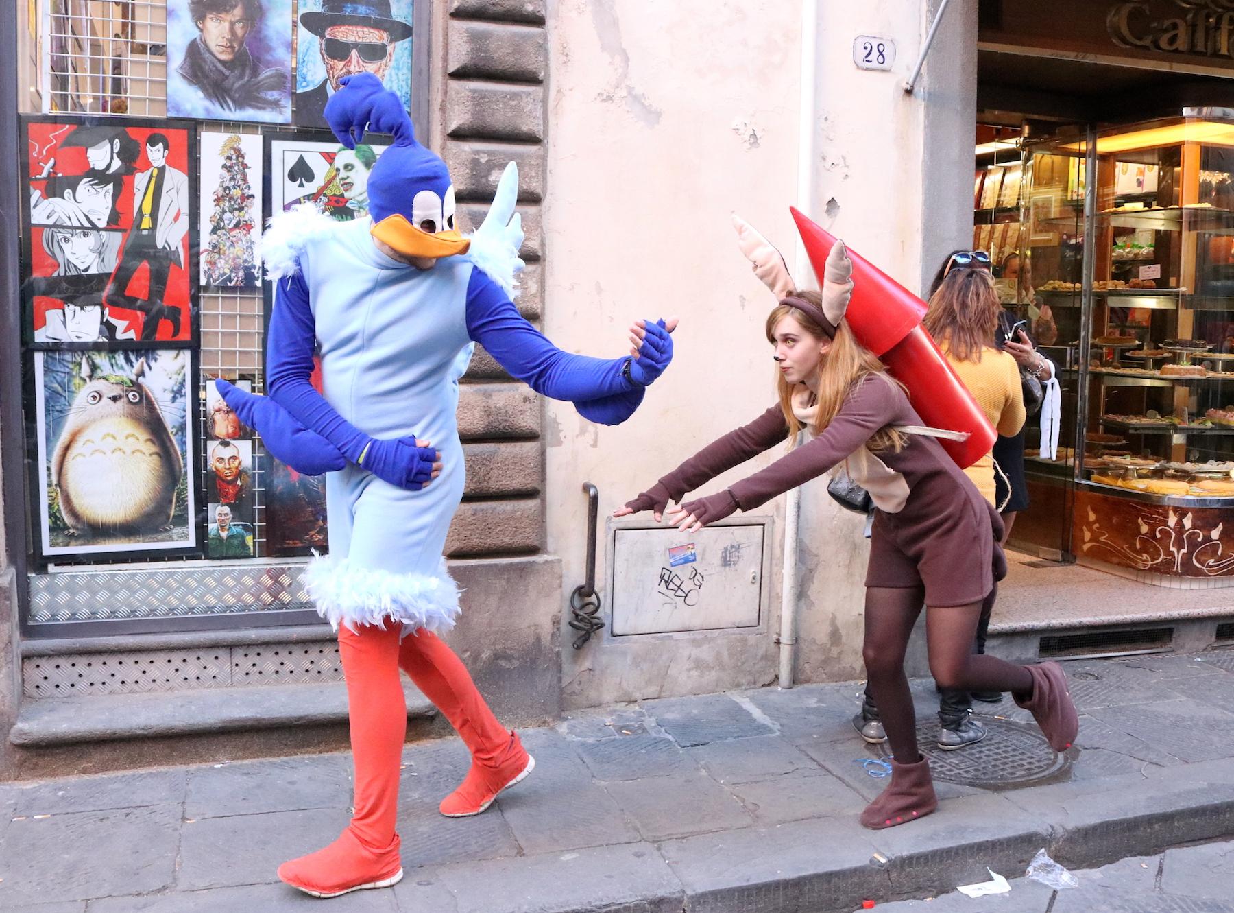 Lucca 2016: simpatici e coloratissimi cosplayer