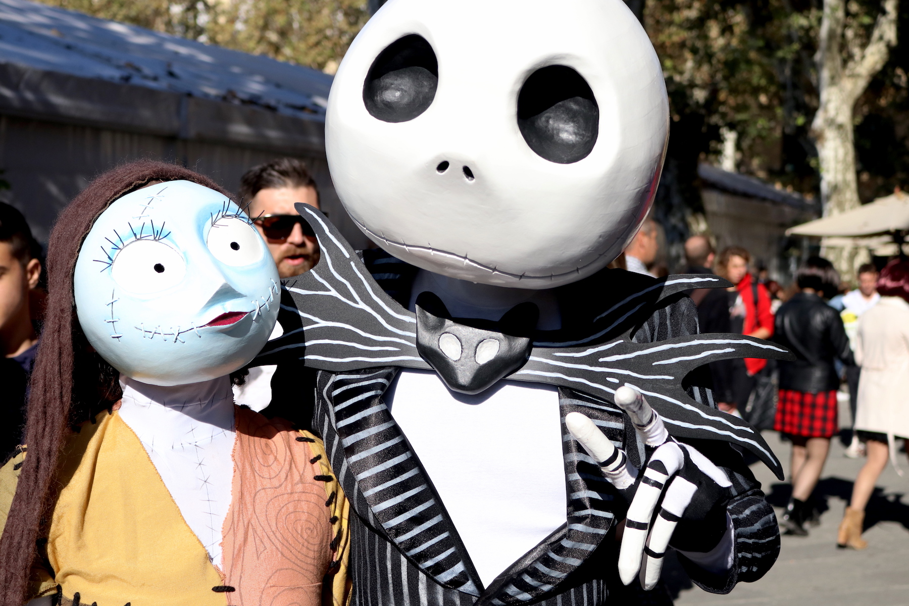 Lucca 2016: bellissimo cosplay di Nightmare Before Christmas