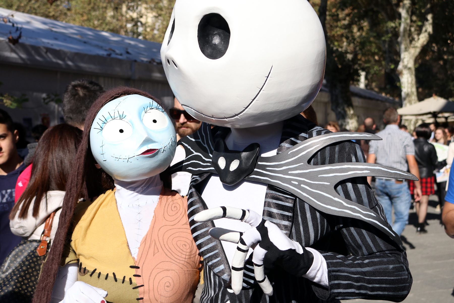Lucca 2016: cosplay di Nightmare Before Christmas