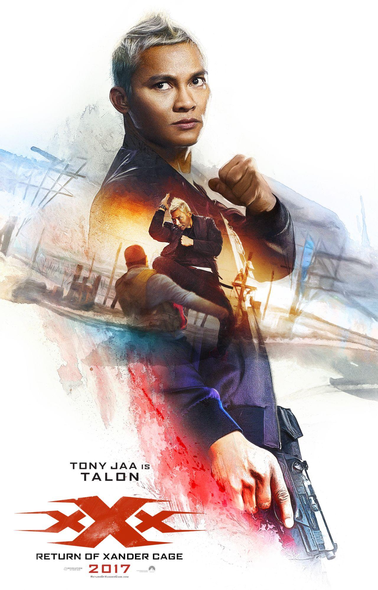 xXx: Return of Xander Cage - Il character poster di Tony Jaa
