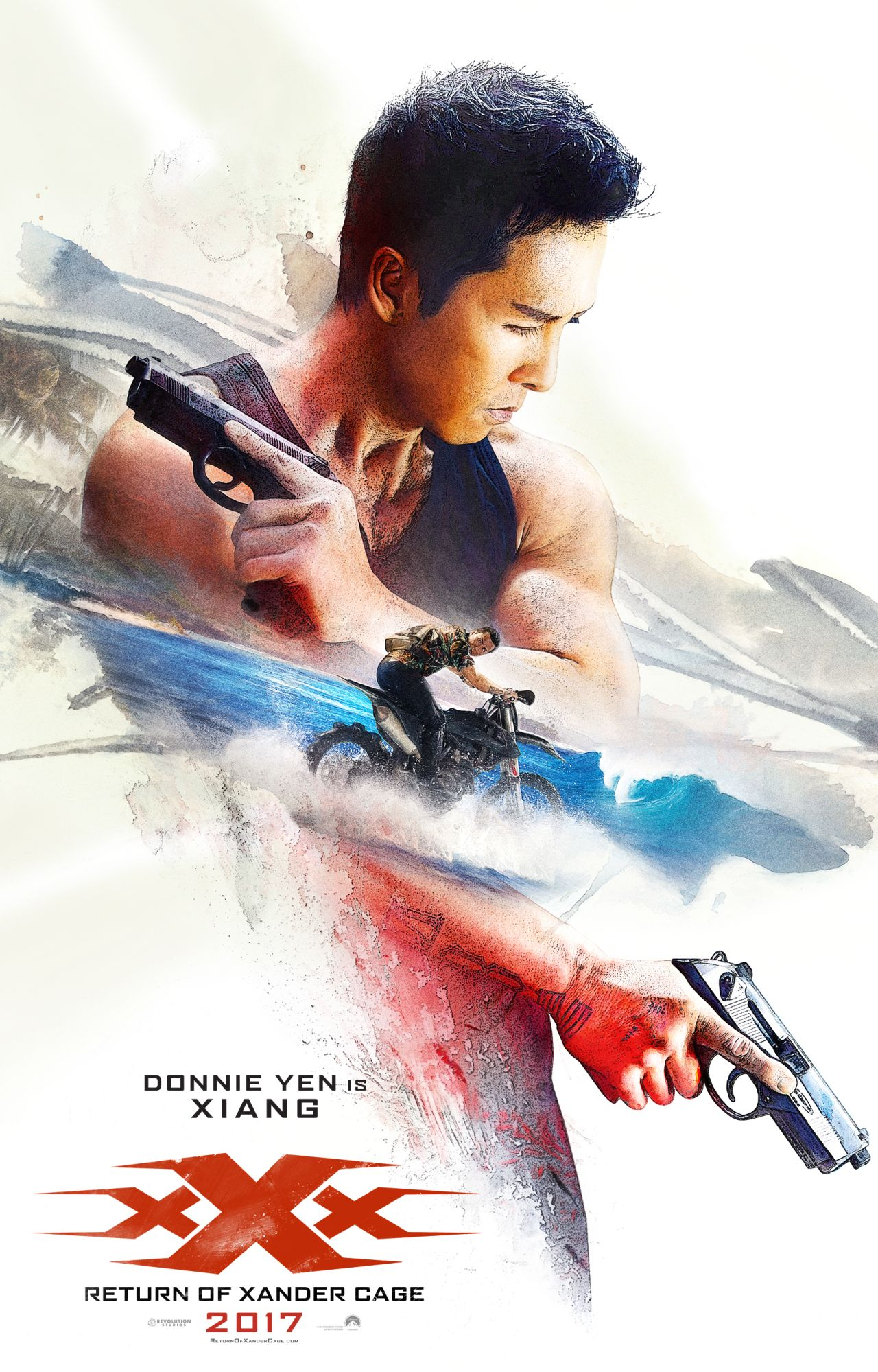 xXx: Return of Xander Cage - Il character poster di Donnie Yen