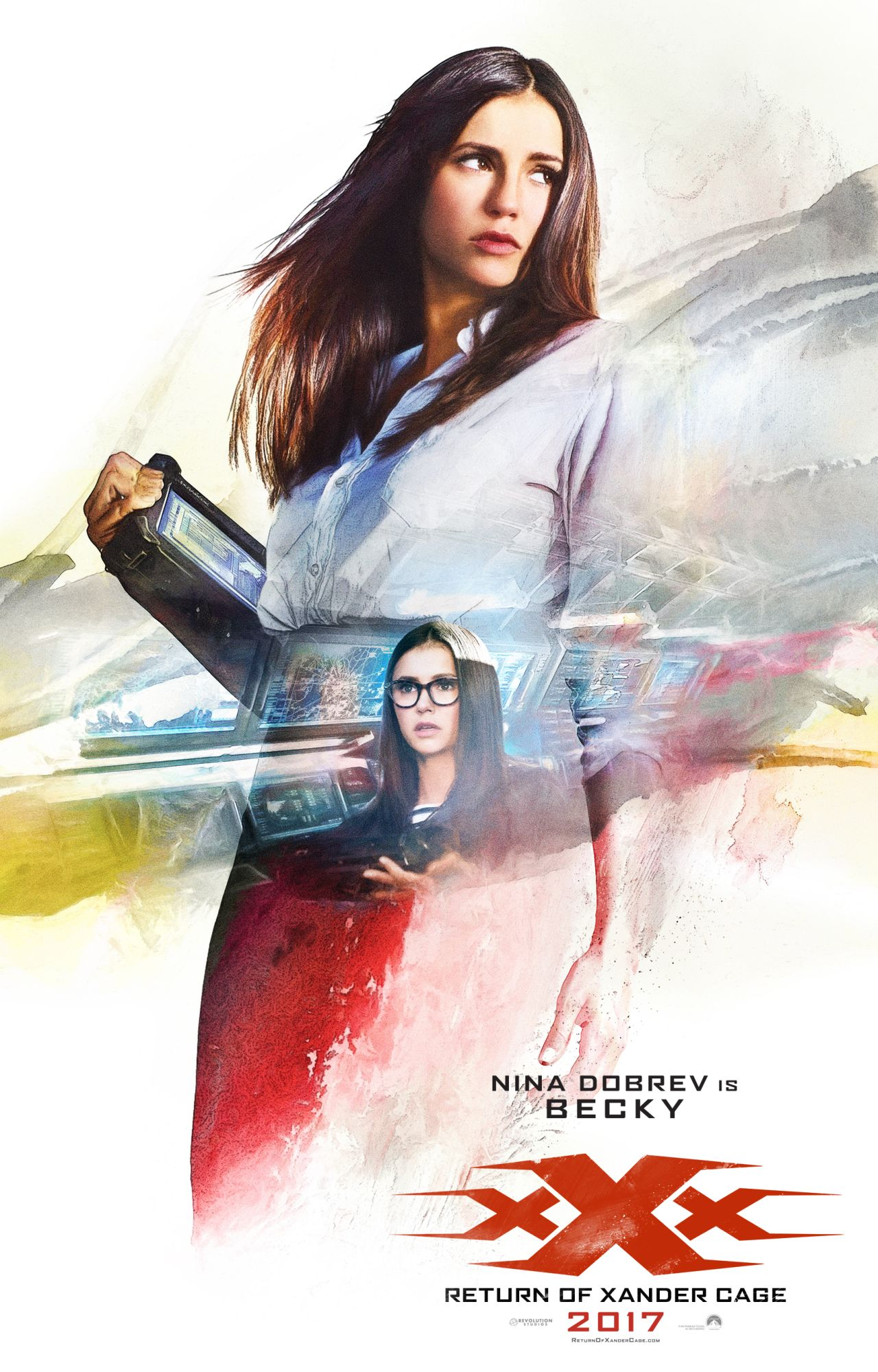 xXx: Return of Xander Cage - Il character poster di Nina Dobrev