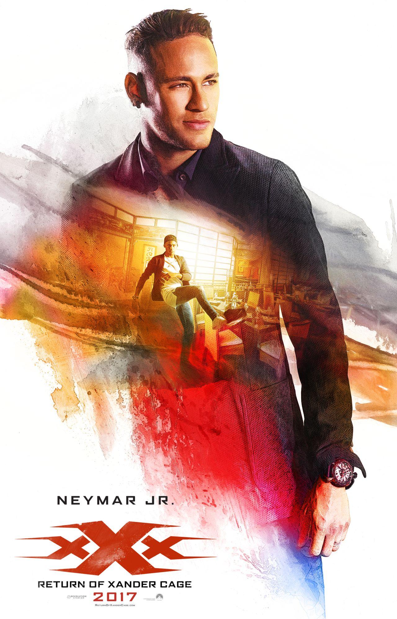 xXx: Return of Xander Cage - Il character poster di Neymar Jr.
