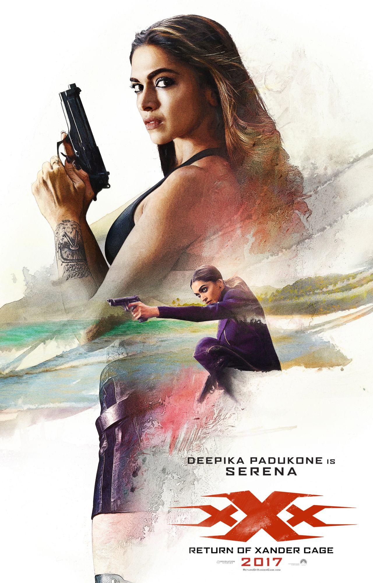 xXx: Return of Xander Cage - Il character poster di Deepika Padukone