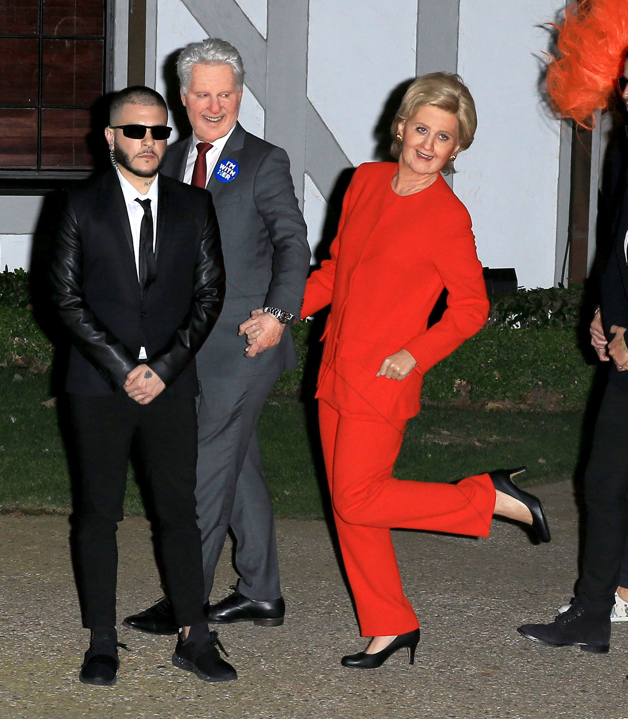 Halloween 2016: Katy Perry e il suo manager sono i Clinton