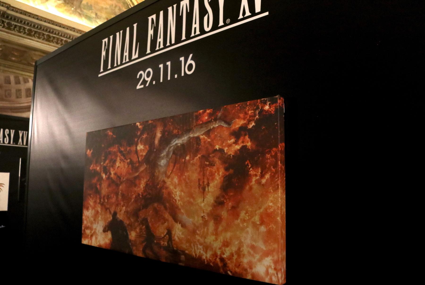 Lucca 2016: quadri in mostra al padiglione di Final Fantasy XV