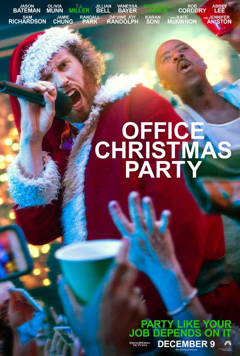Office Christmas Party: una delle locandine del film