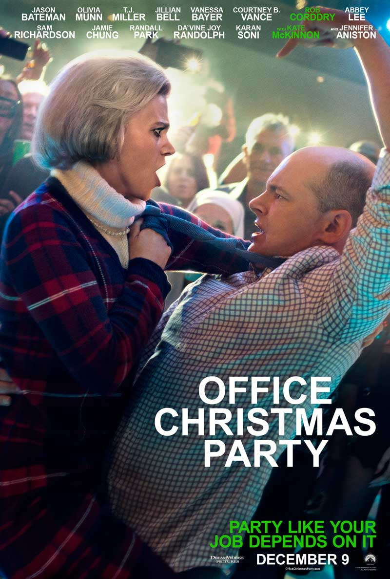 Office Christmas Party: un poster del film