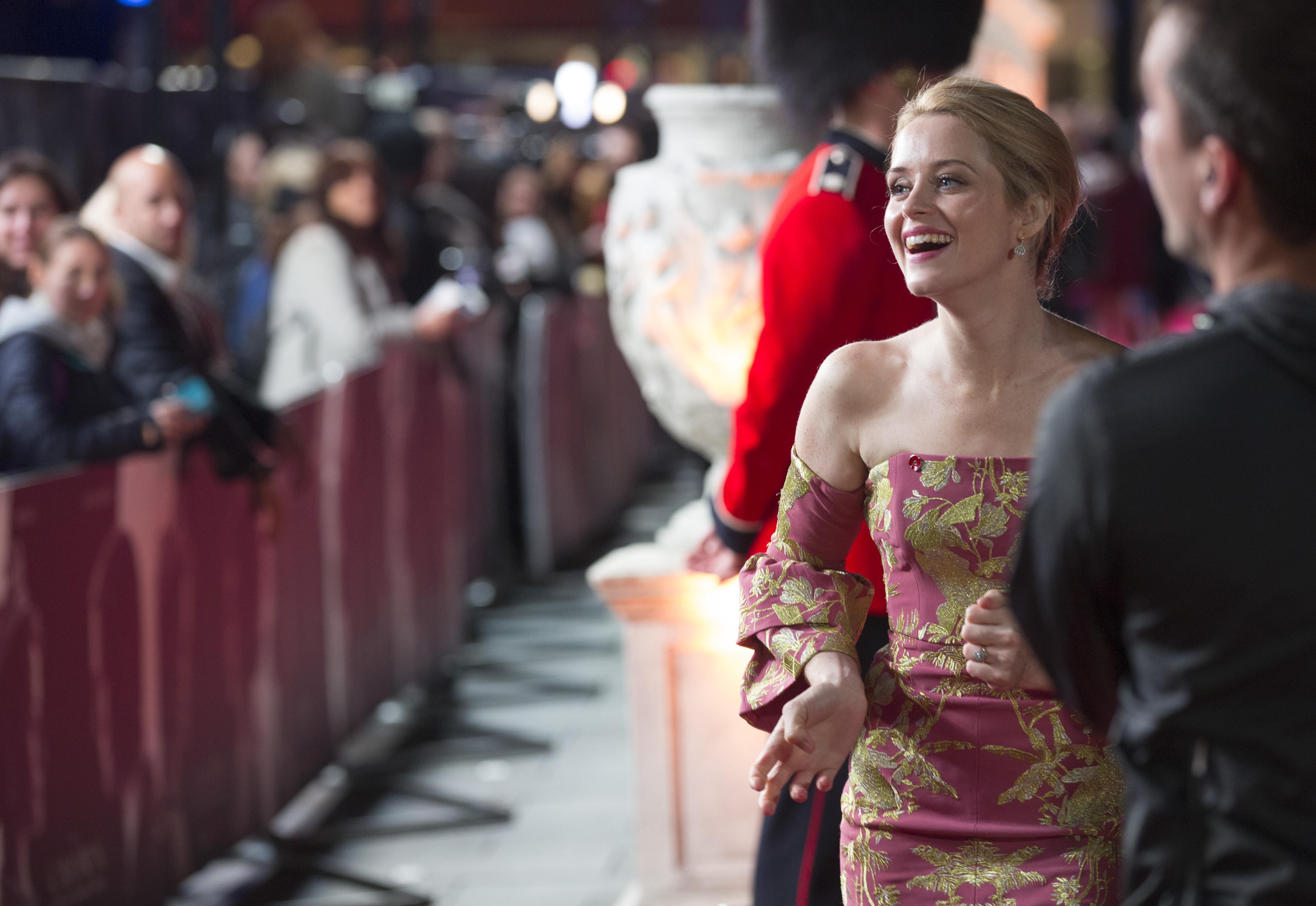 The Crown: la protagonista Claire Foy sul red carpet