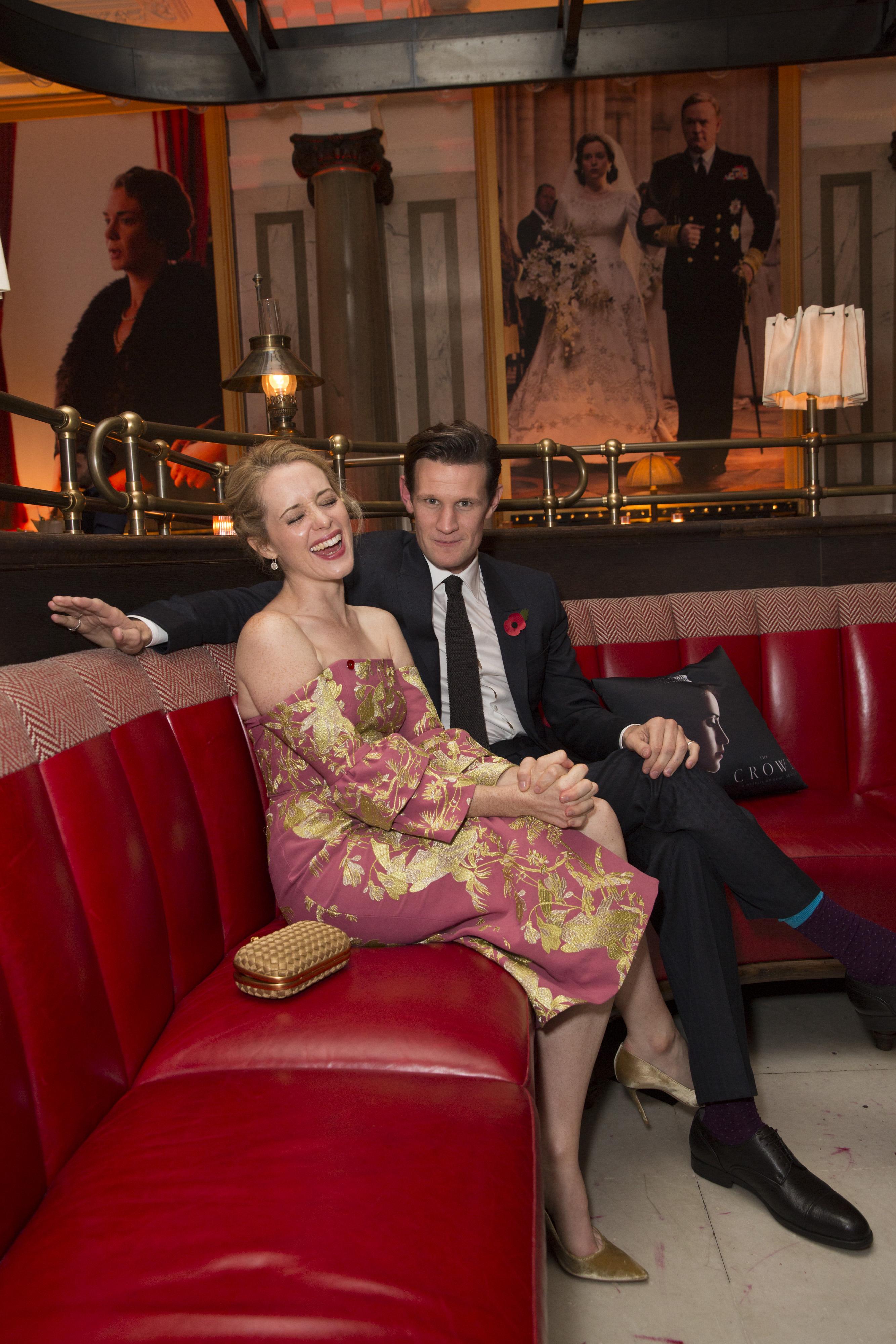 The Crown: i protagonisti Claire Foy e Matt Smith