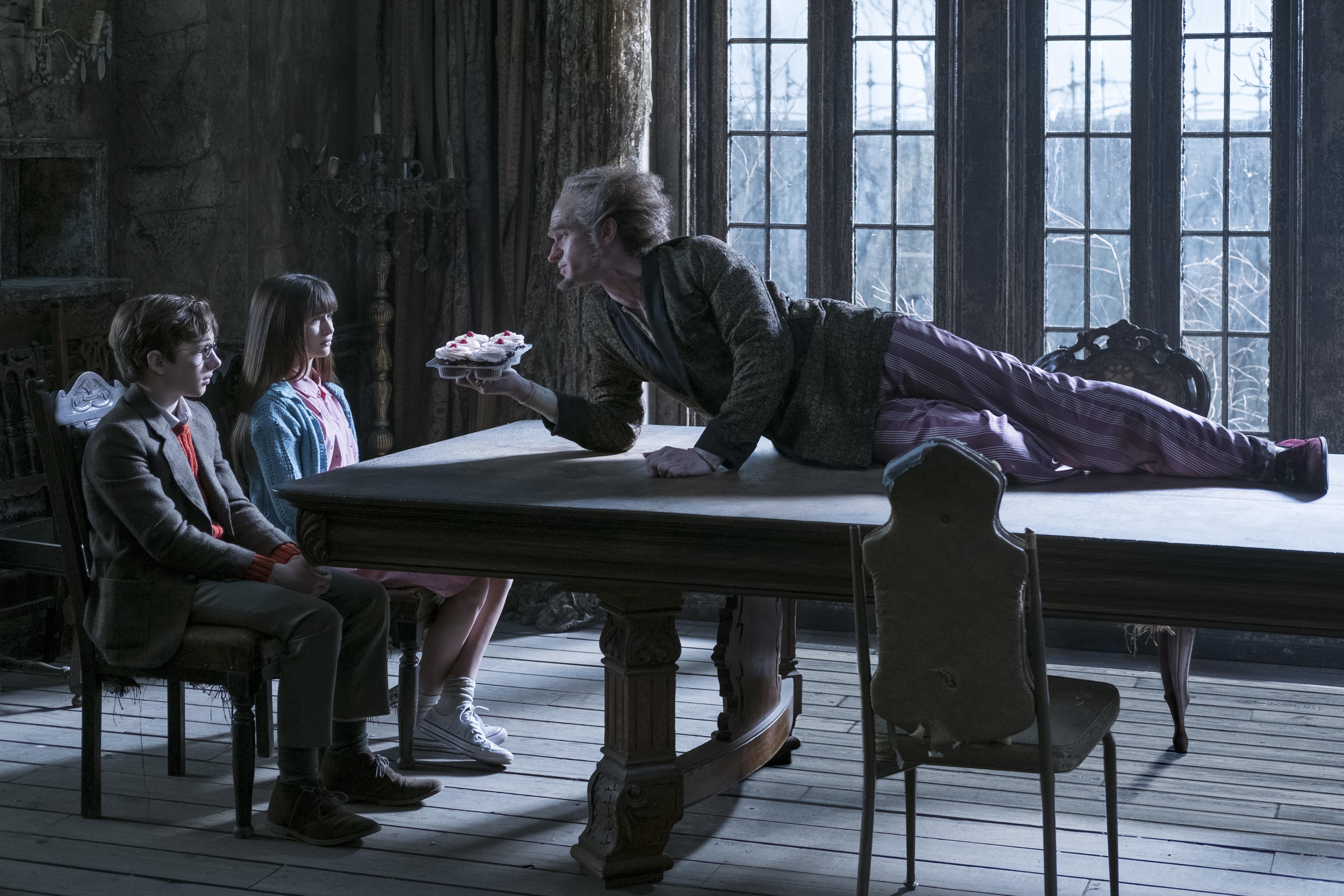 Una serie di sfortunati eventi: l'attore Neil Patrick Harris in una foto della serie