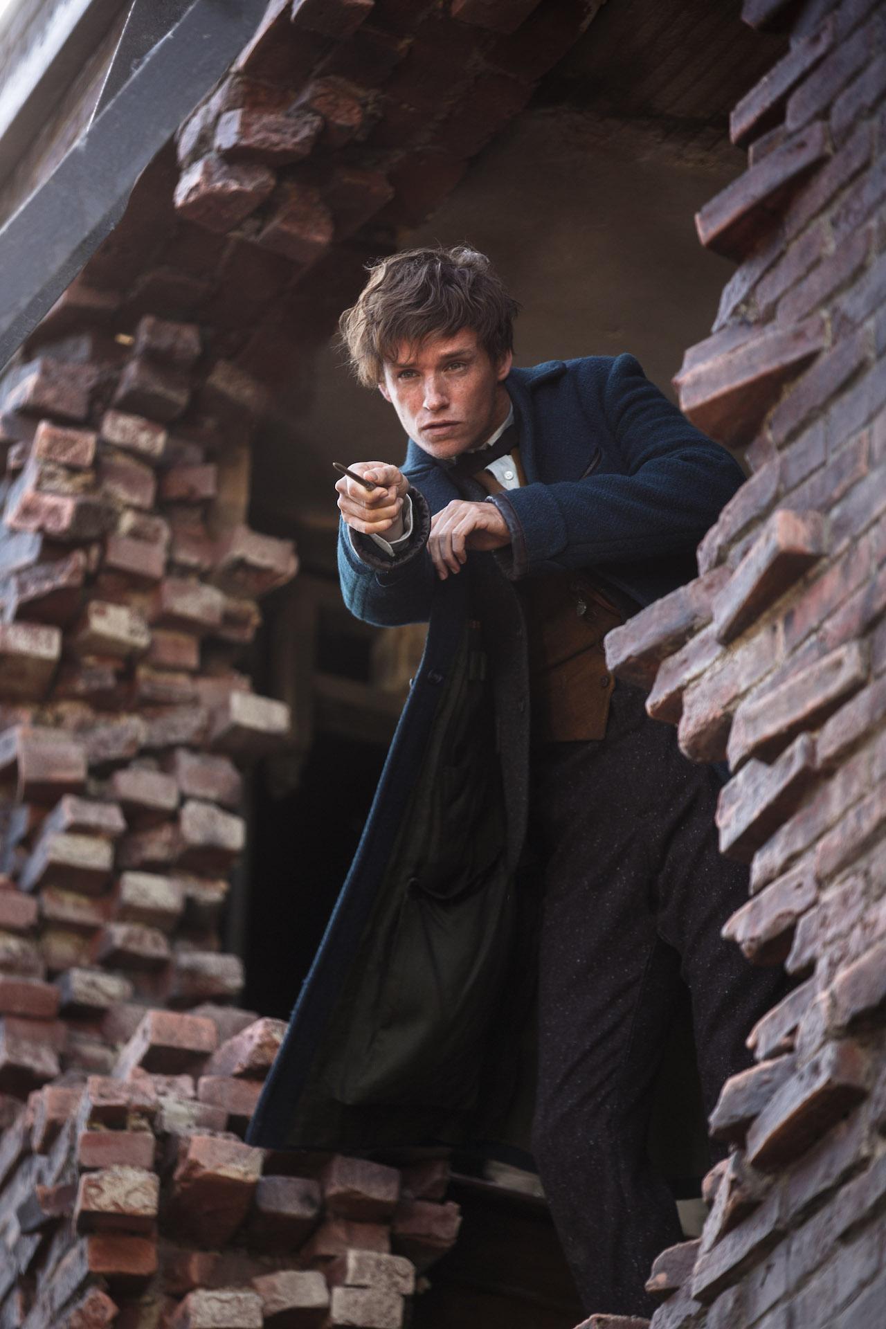 Animali Fantastici e Dove Trovarli: Eddie Redmayne interpreta Newt Scamander
