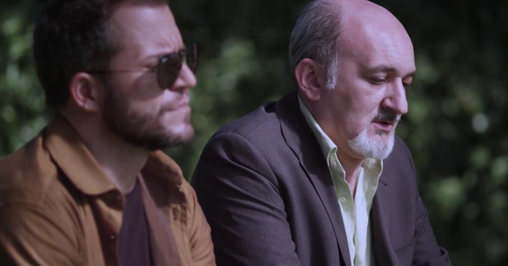 Fratelli di sangue: Mirko D'Arpa ed Enzo Casertano in una scena del film
