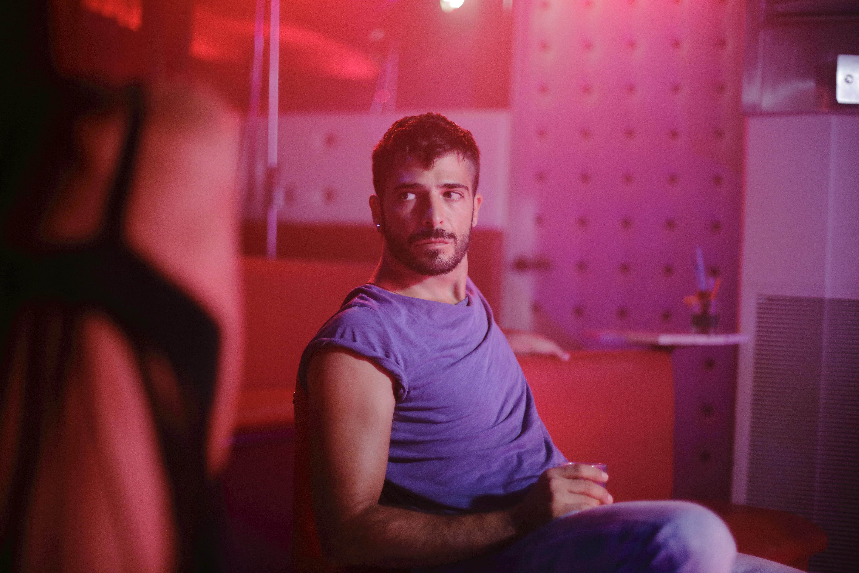 Solo: un'immagine dell'attore Marco Bocci
