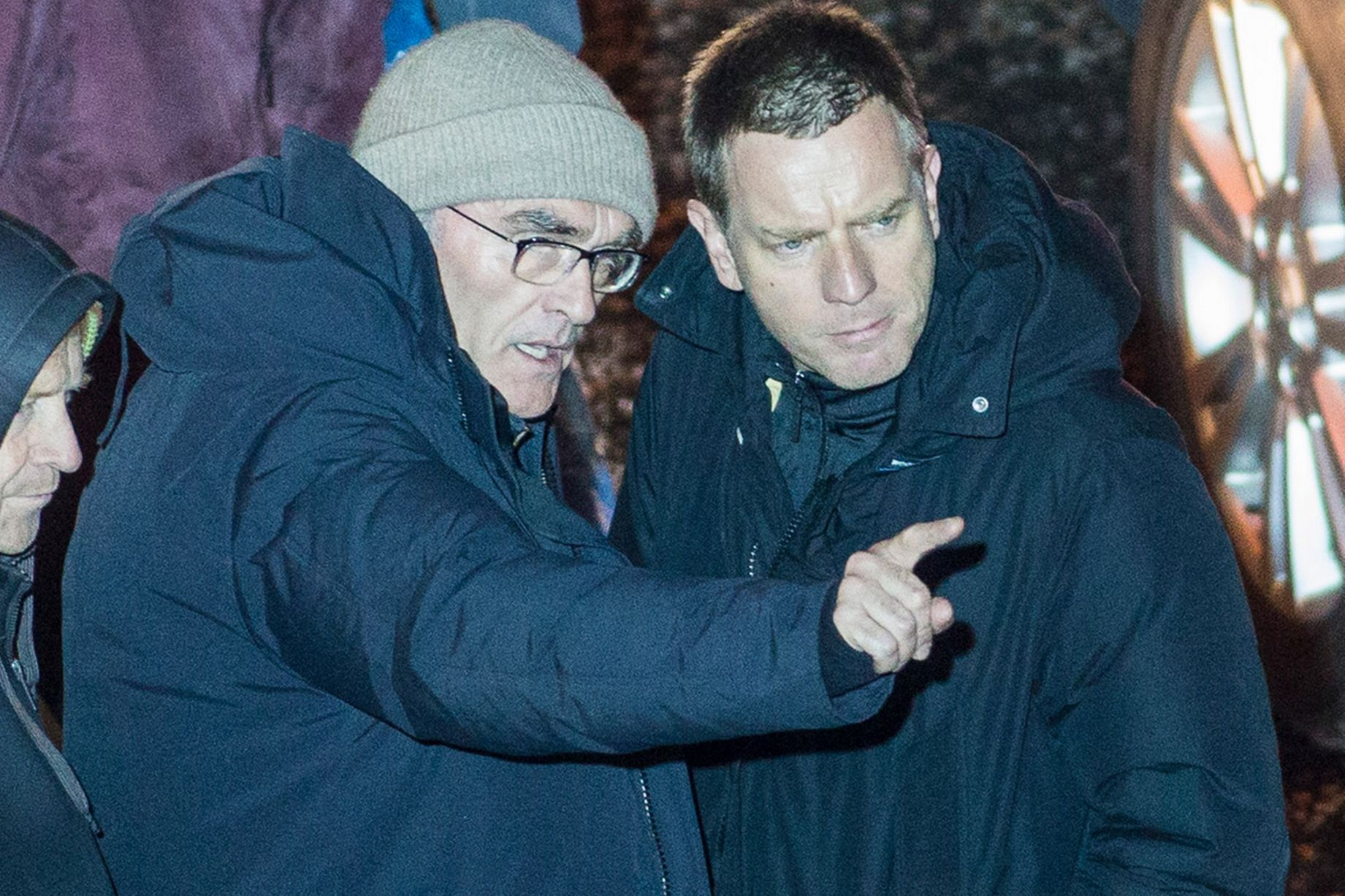 T2: Trainspotting 2, Ewan McGregor e Danny Boyle sul set del film