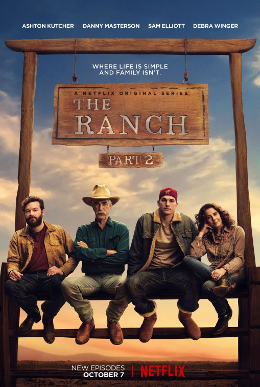 The Ranch: il poster per la seconda metà della prima stagione