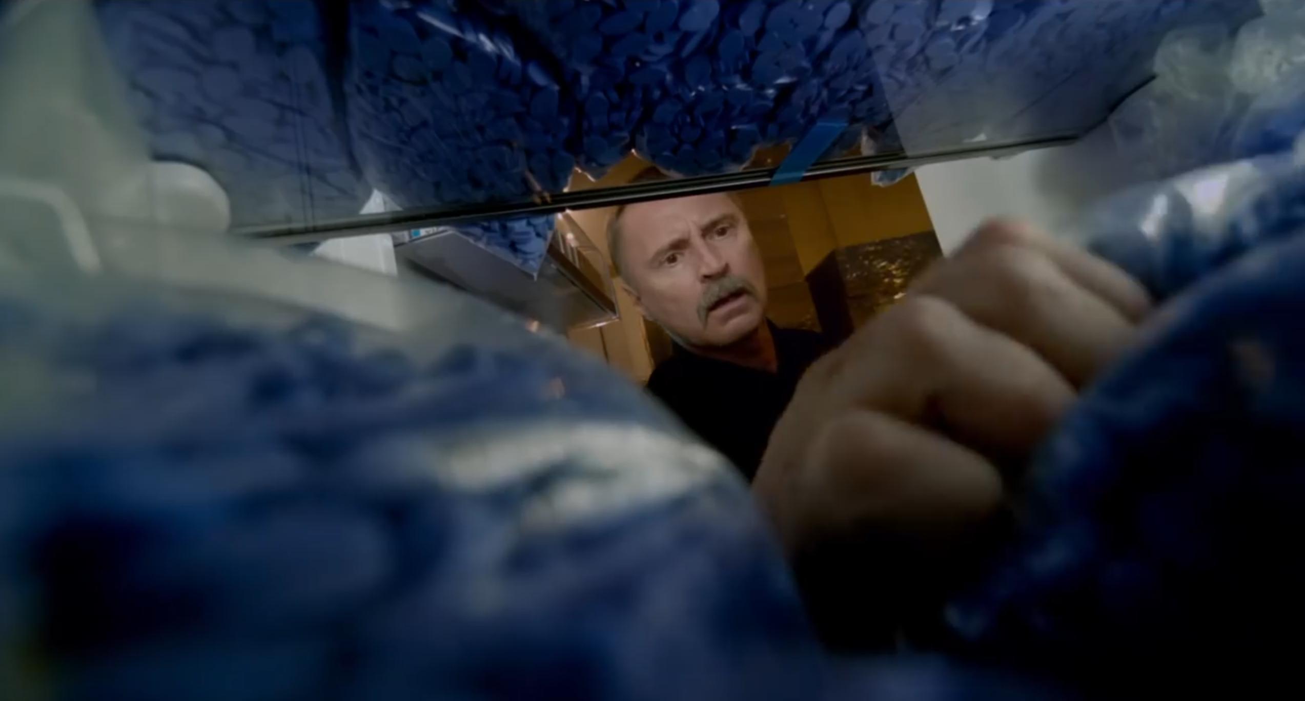 T2: Trainspotting 2 - Robert Carlyle in un'immagine del trailer del film