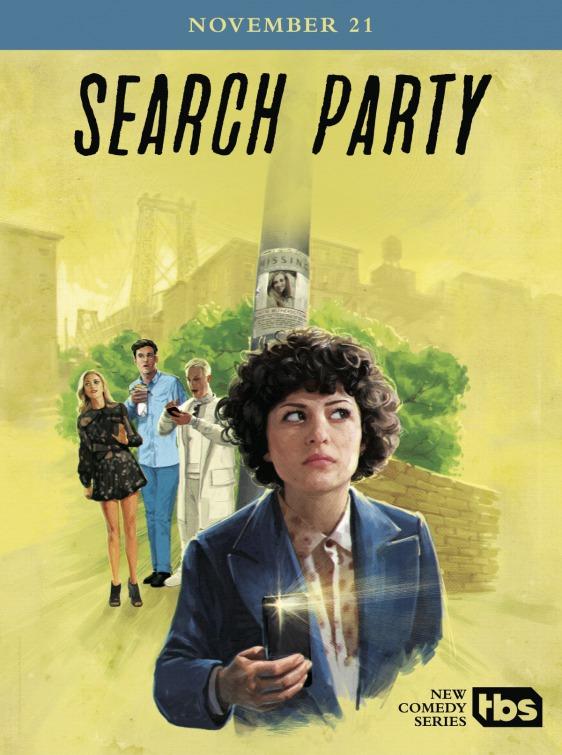 Search Party:la locandina della serie