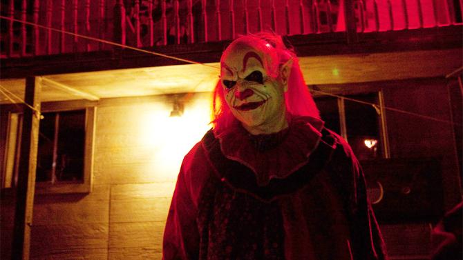 Una scena di Halloween Night
