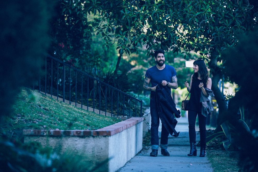 Between Us: Olivia Thirlby e Adam Goldberg in una scena del film
