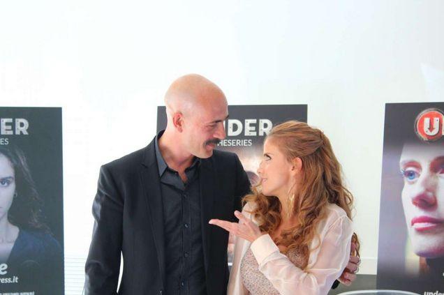 Chiara Iezzi e Gianmarco Tognazzi presentano Under The Movie