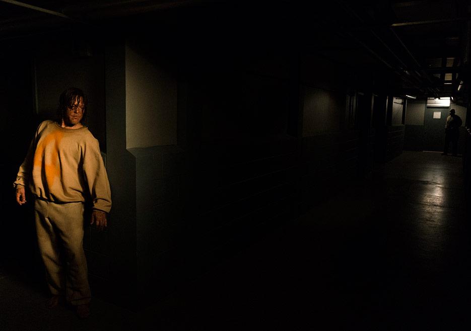 The Walking Dead: l'attore Norman Reedus in una foto di The Cell