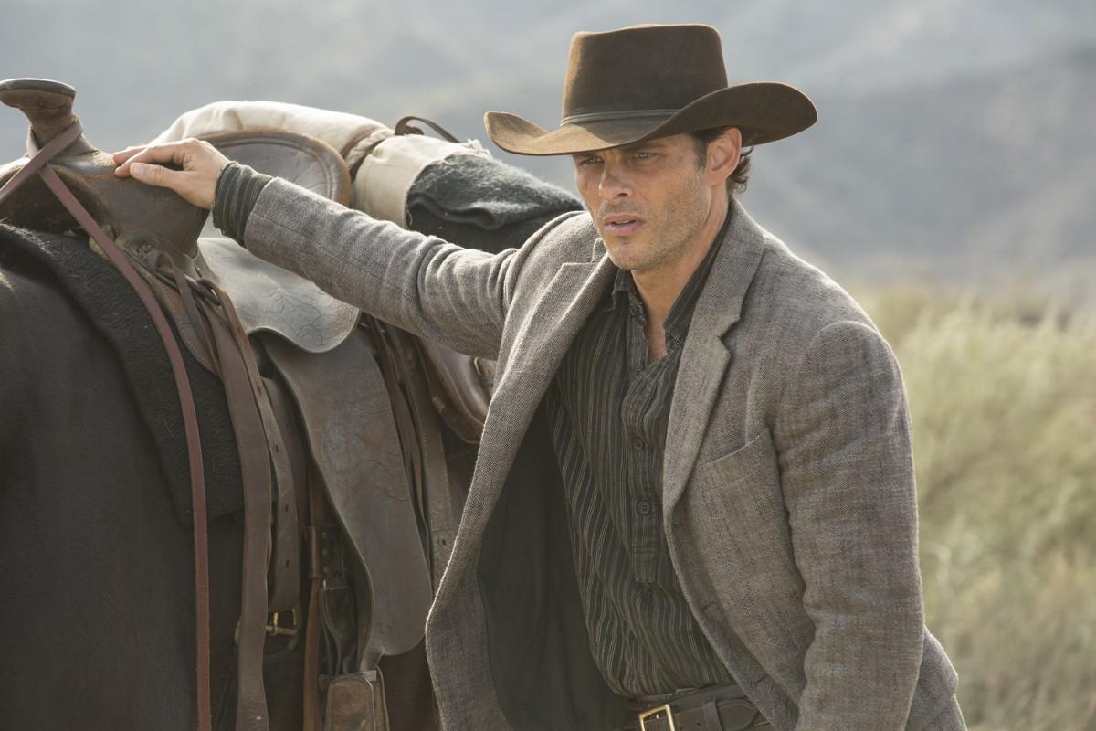 Westworld: James Marsden in una foto di The Adversary