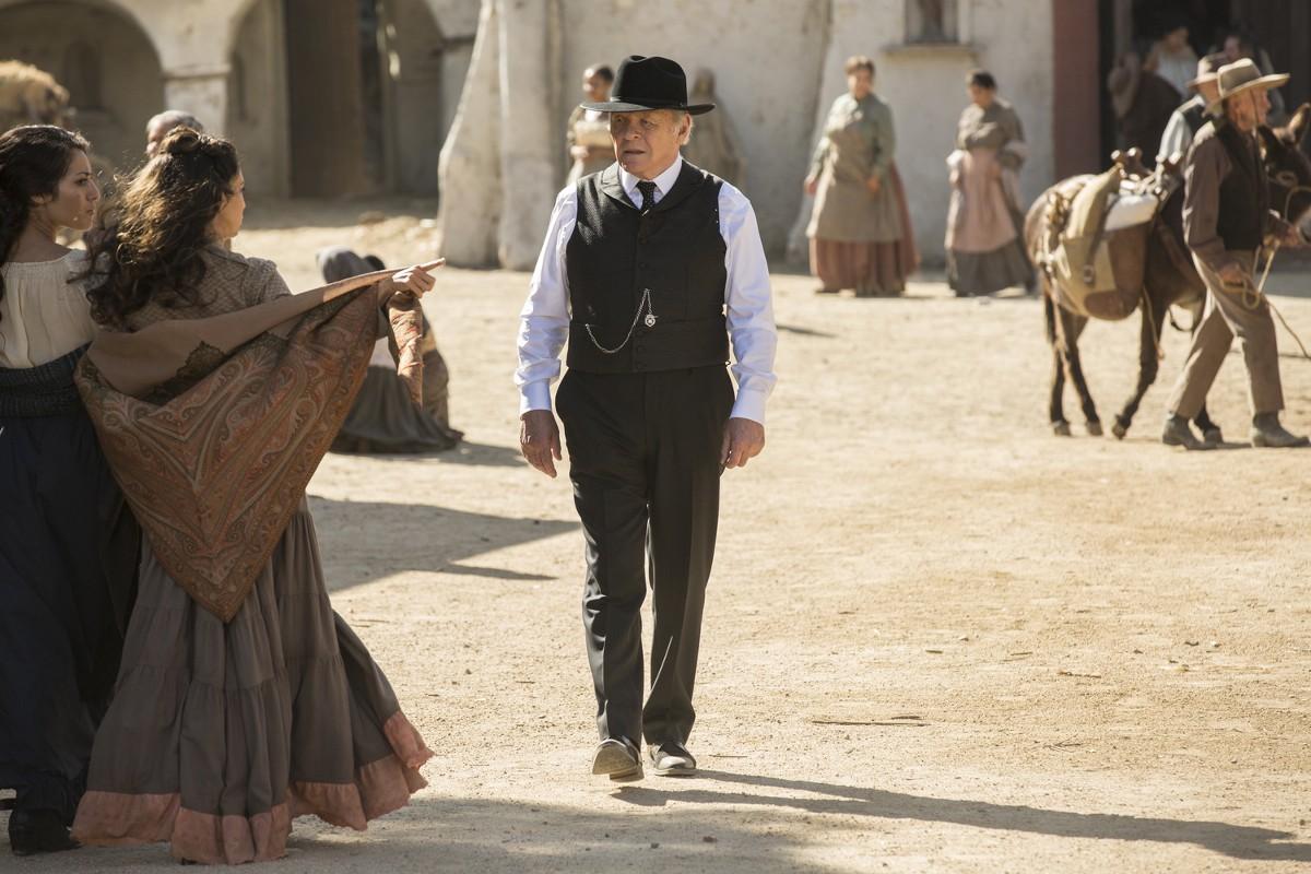 Westworld: l'attore Anthony Hopkins nell'episodio The Adversary