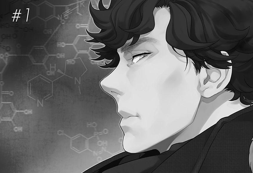 Sherlock: il profilo di Sherlock Holmes versione manga