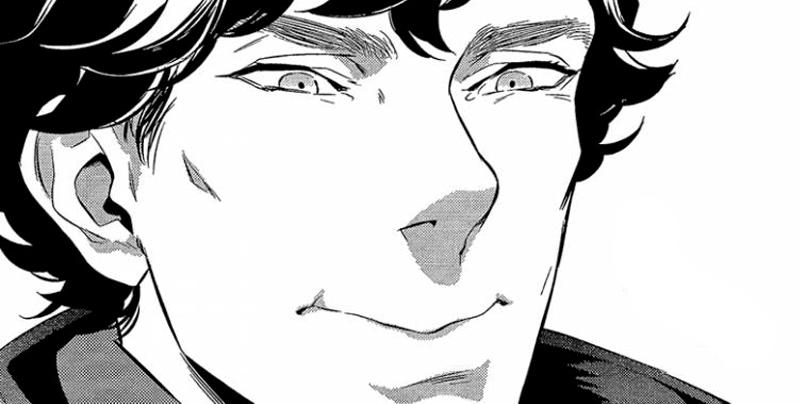 Sherlock: ecco Sherlock versione manga