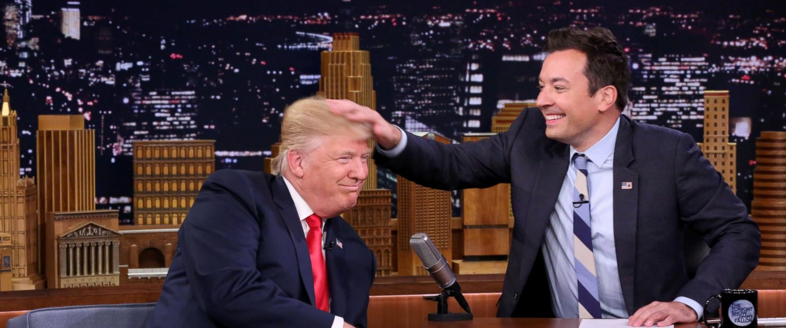 Jimmy Fallon e Donald Trump