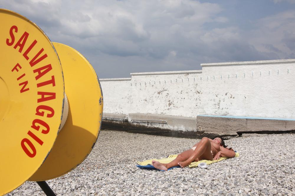 L'ultima spiaggia: un'immagine tratta dal documentario di Del Degan e Anastopoulos