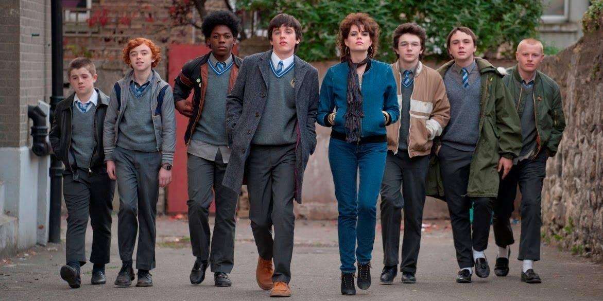 Il cast di Sing Street