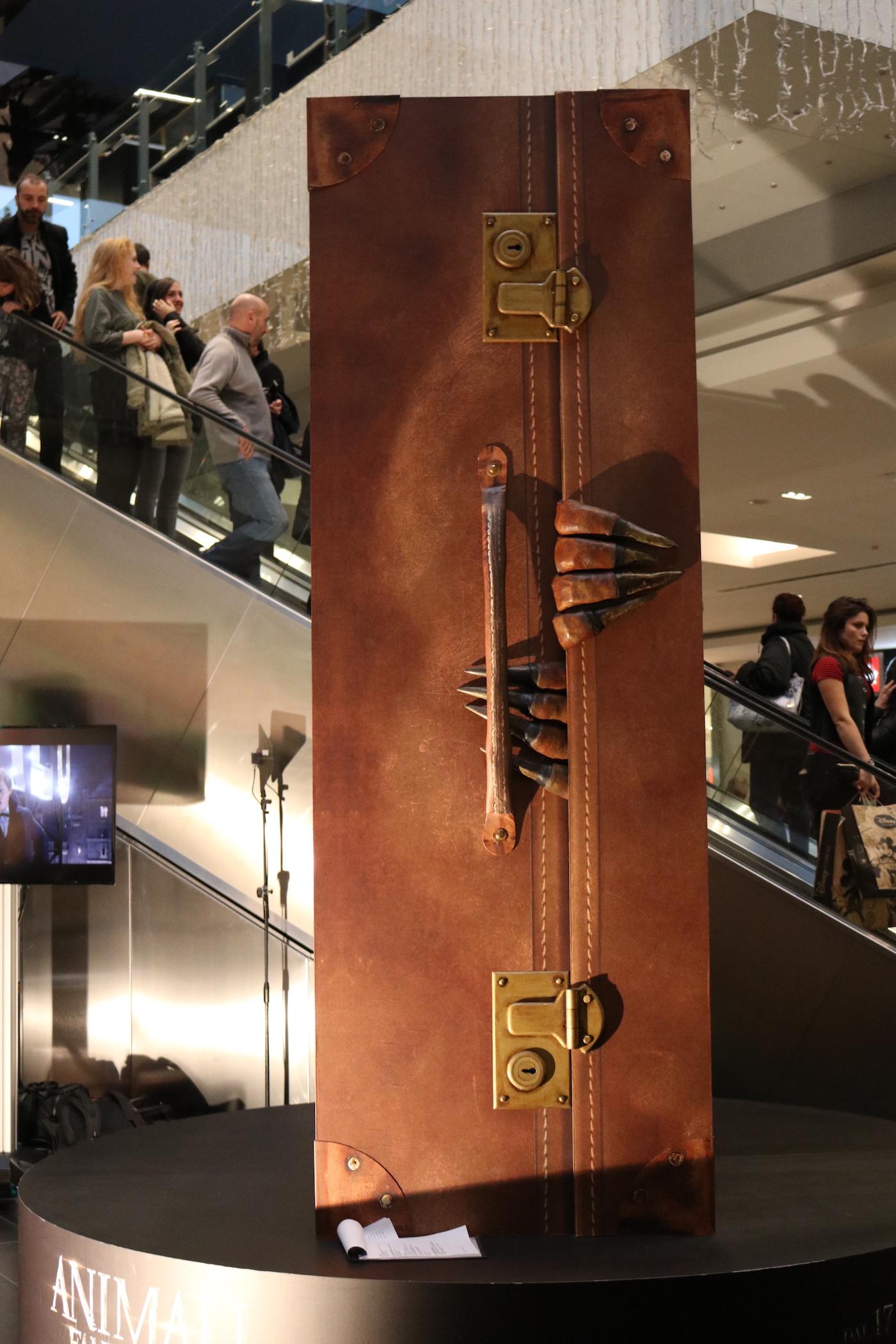 Animali fantastici e dove trovarli: la valigia del film all'evento a Porta di Roma