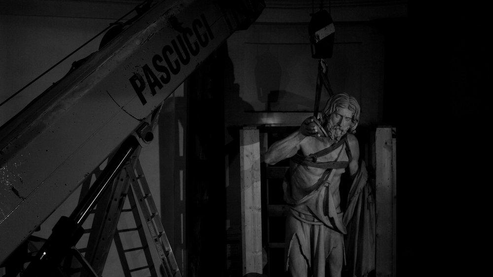 Colossale sentimento: un'immagine tratta dal documentario italiano