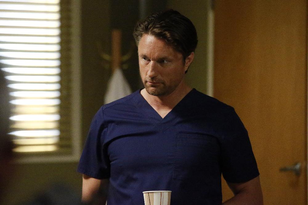 Grey's Anatomy: l'attore Martin Henderson in Undo